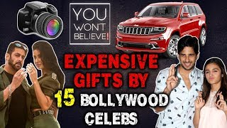 Expensive Gifts By 15 Bollywood Celebs| Saif To Taimur, Salman to Katrina, Sidharth to Alia
