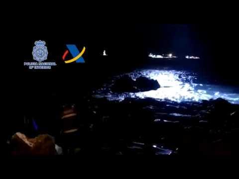 Una de las mayores operaciones contra el narcotráfico en las Islas Canarias