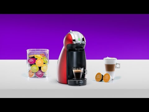Set Up Your NESCAFÉ® Dolce Gusto® Genio 2 Coffee Machine By Krups®