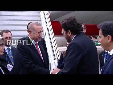 Argentina: Erdogan lands in Buenos Aires for G20