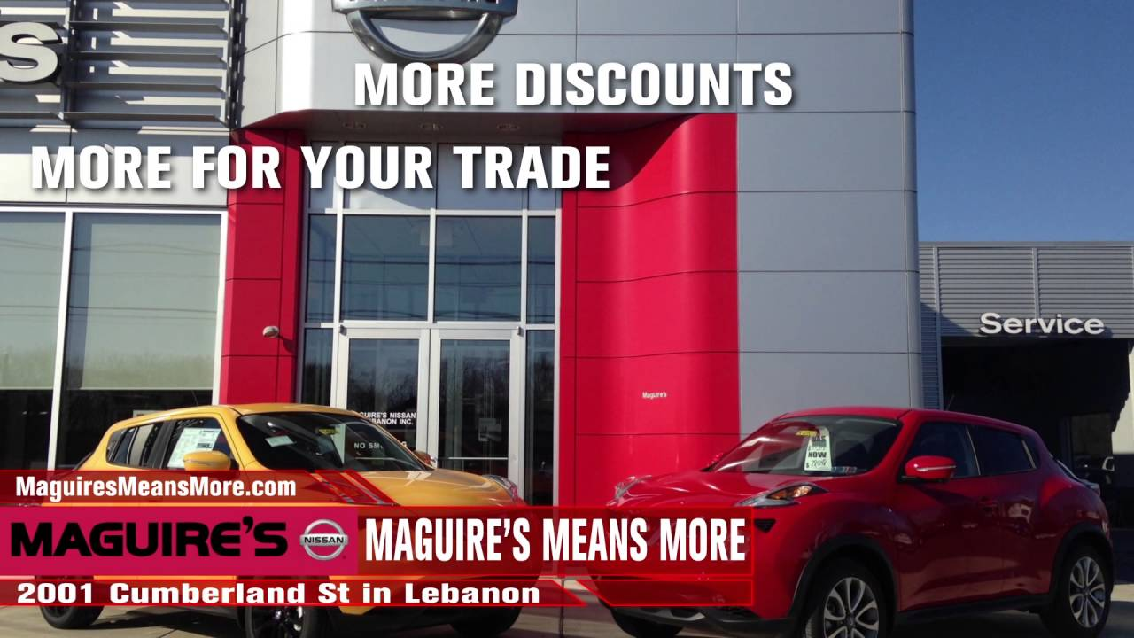 Maguires Nissan April TV - YouTube