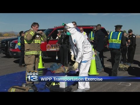 Government agencies gathered in Santa Fe for radioactive spill exercise