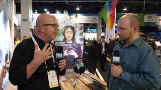 Audio-Technica - SR30BT Sound Reality   M50xBT Wireless Headphones -  Interview - CES 2019 edbe918ab4