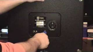 Ampeg Speaker Cabinets L Pad Attenuator and Crossover