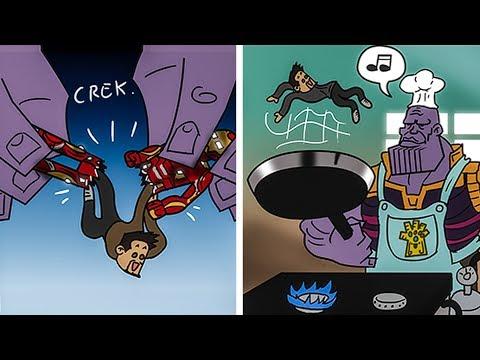 Hilariously Funny SUPERHERO Comics - Marvel & DC - 10/ To Make You Laugh 😂
