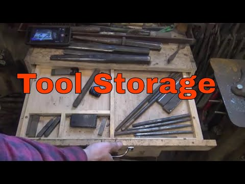 tool storage options for the blacksmith shop - basic blacksmithing