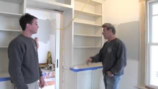 Kraftmaid Cabinetry: Steve Thomas's Library Renovation