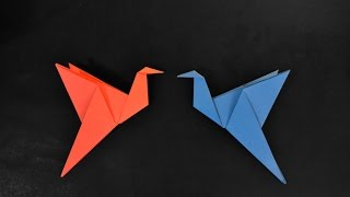 Origami: Flapping Bird / Pássaro que bate as asas