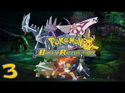 Pokémon: Battle Revolution (Nintendo Wii) - HD Walkthrough Episode 3 - Waterfall Colosseum