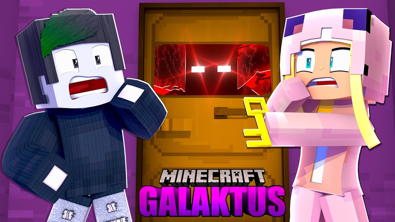 Das MONSTER HINTER DER GEHEIMTÜR! ✿ Minecraft GALAKTUS #56 [Deutsch/HD]