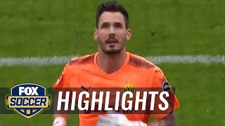Eintracht Frankfurt vs. Borussia Dortmund | 2017-18 Bundesliga Highlights