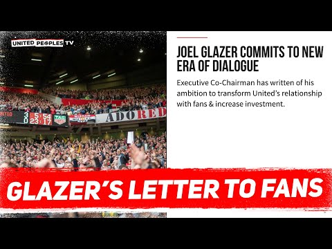 GLAZERS RESPOND: Letter To Man United Fans | REACTION