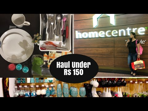 Home Centre Shopping Haul Under Rs150 | Home Centre & One Stop Tour | Kitchen & Home Decor