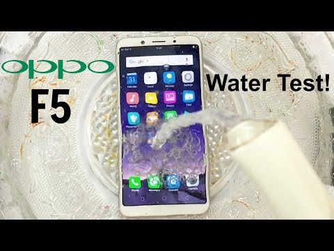 detailed look 60d19 93f86 Oppo F5 Water Test! Actually Waterproof? - YouTube