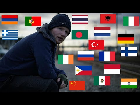 Shape Of You in 20 Different Languages!