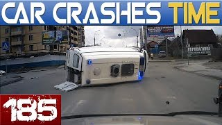 BAD DRIVERS & ROAD FAILS Compilation - BEST OF DASHCAMS - Episode #185