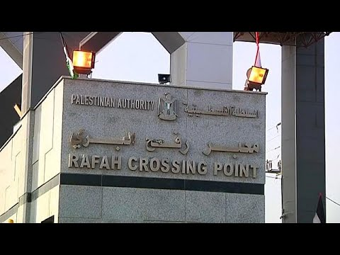 euronews (en español): Egipto abre el paso de Rafah durante tres días