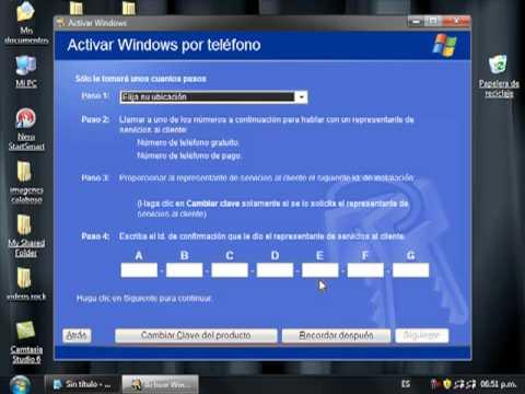 validar windows xp gratis y sin programas