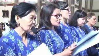 HAEC DIEC. Koor Musik Kolintang WKRI Paroki Kelsapa Surabaya. Misa Paskah Lansia.