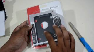 [HINDI] Unboxing Kingston SSD & Caddy (2nd HDD ) With Installation Process