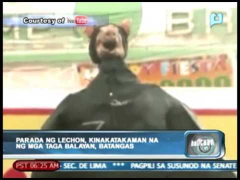 Parada ng lechon, kinakatakaman na mga taga Balayan, Batangas