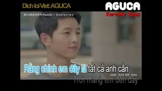 [Karaoke Việt] EVERYTIME - CHEN ft. PUNCH