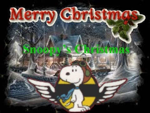 Snoopys Christmas Lyrics.Snoopy S Christmas Snoopy Vs The Red Baron