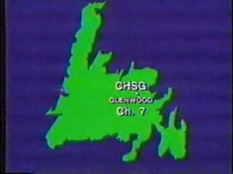 CJON Sign On 1995