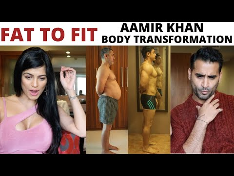 FAT TO FIT | Aamir Khan Body Transformation | Dangal | REACTION | REVIEW