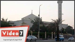 تعزيزات أمنية بمحيط مسجد المشير طنطاوى لتأمين عزاء سامح سيف اليزل
