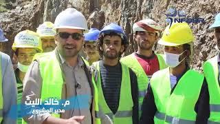 فلاش عن مشروع خزانات حصاد مياه الامطار صعدة