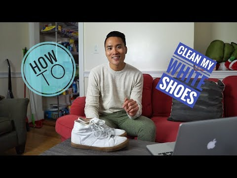 Save money: Clean your white shoes!