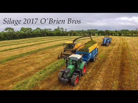 O'Brien Bros in Full Swing - Silage 2017
