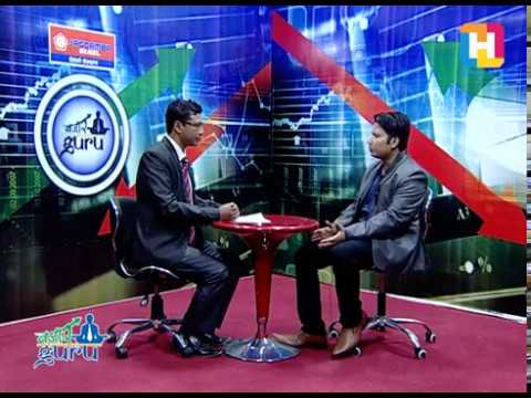 Bazaar Guru with Narendra Kumar Agrawal ( contender for General manager of Nepse )