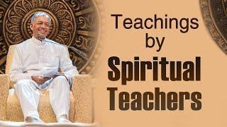 Teachings by Spiritual Teachers