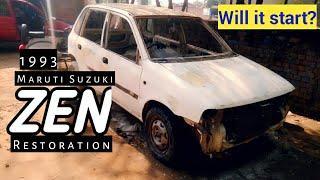 1993 Zen Restoration Car | GT Modificatied Maruti Suzuki ZEN | Vintage Cars