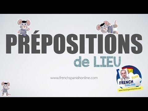 Les prépositions de lieu en français
