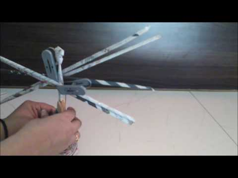 How to create Indian newspaper weaved doll DIY part 1 | Learning Process