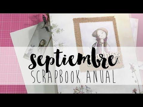 SCRAPBOOK ANUAL tutorial scrapbooking