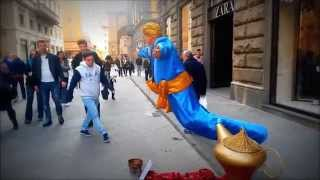 Aladdin And The Magic Lamp in The Street