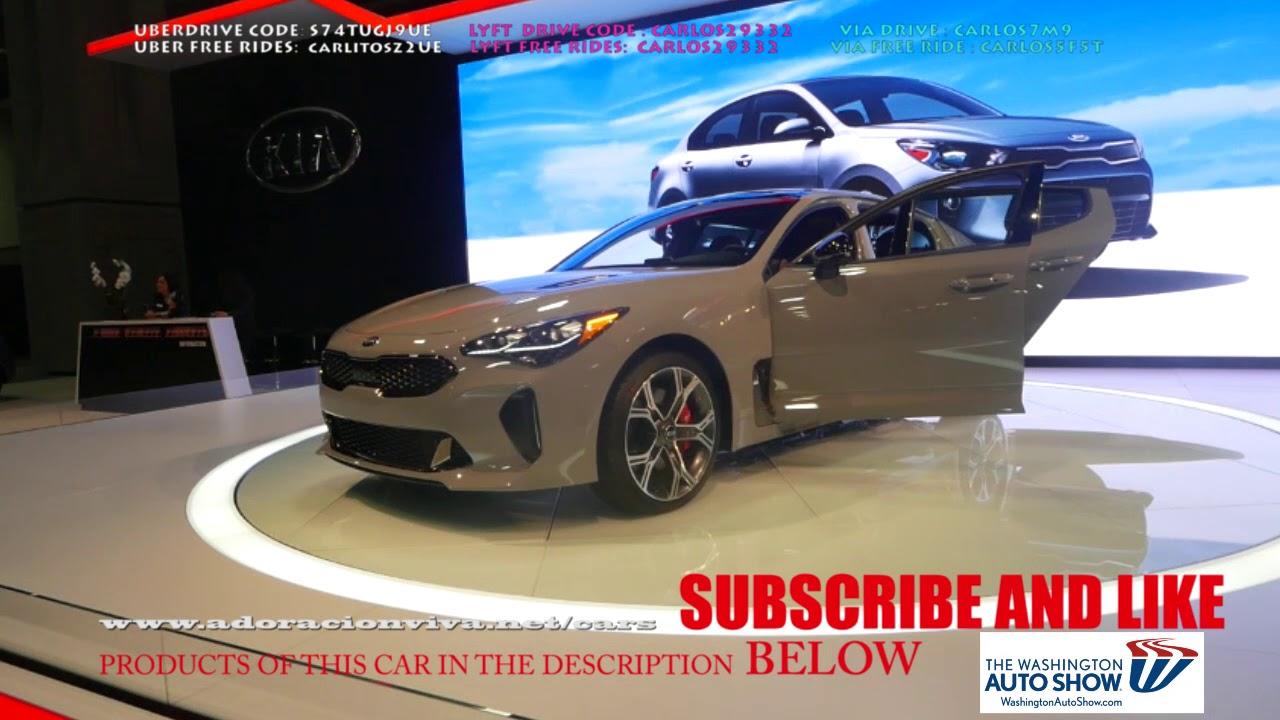 Kia Stinger 2019 Washington Dc Autoshow Youtube