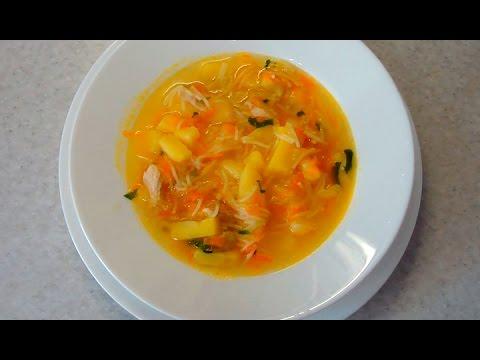 Легкий куриный суп с вермишелью - пошаговый рецепт приготовления