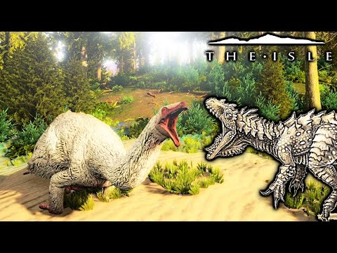 The Isle - HYPO ALLO, REALISM THERIZINOSAURUS ATTEMPTS NESTING & A SURPRISE ( Gameplay )