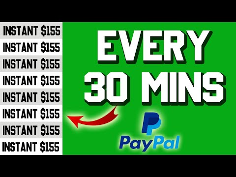MAKE FREE PayPal Money RIGHT NOW $155 Every 30 Min | Make Money Online 2021