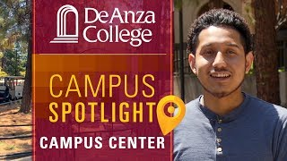 DEANZACOLLEGE Inside the Hinson Campus Center are the food court an...