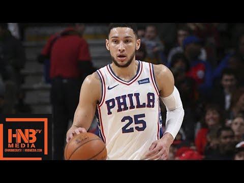 Philadelphia Sixers vs Orlando Magic 1st Half Highlights / Feb 24 / 2017-18 NBA Season