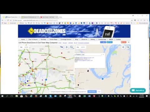 How To Use Deadcellzones.com Map To Help Inform Tower & Cell Companies To Fix Coverage