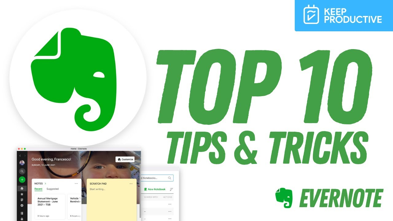 10 Evernote Tips for Better Productivity (2021)