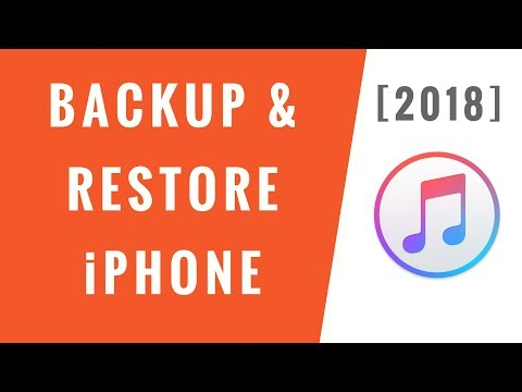 How to Backup & Restore iPhone using iTunes [2018] - Step-By-Step!