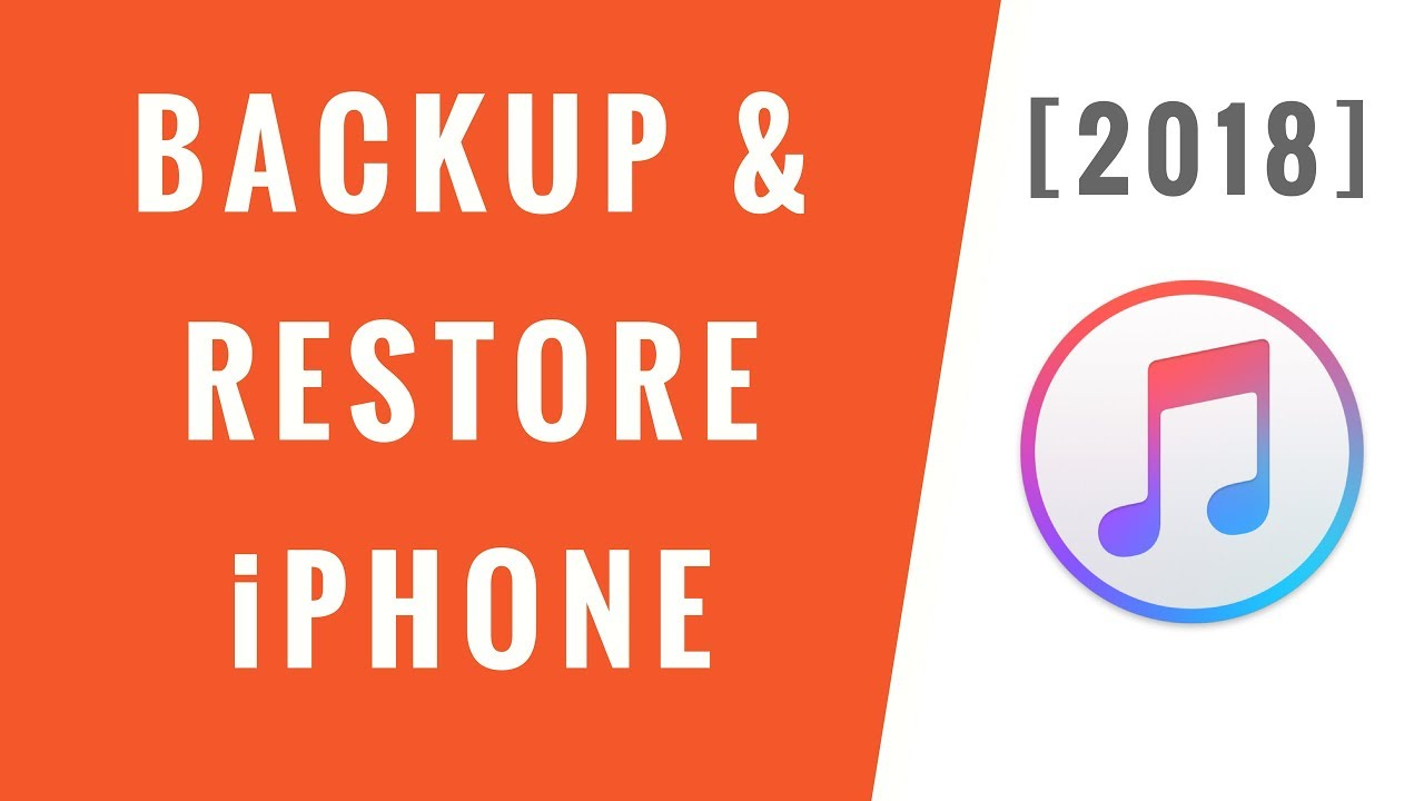 How to Backup & Restore iPhone using iTunes [2018] – Step-By-Step!